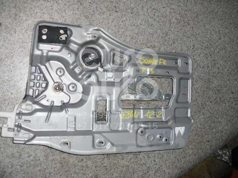 Стеклоподъемник электр. задний правый для Hyundai Santa Fe (SM) 2000-2005 - Фото №1