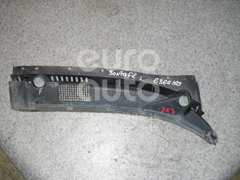 Решетка стеклооч. (планка под лобовое стекло) для Hyundai Santa Fe (SM)/ Santa Fe Classic 2000-2012 - Фото №1