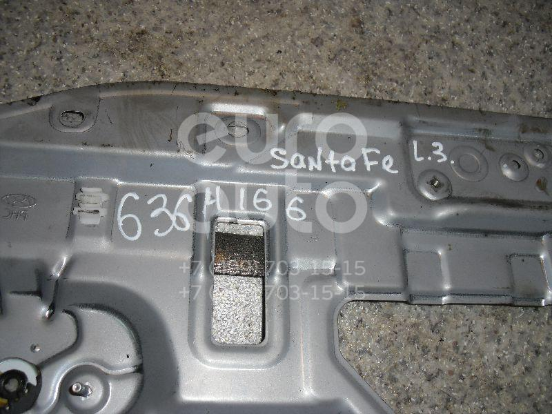 Стеклоподъемник электр. задний левый для Hyundai Santa Fe (SM)/ Santa Fe Classic 2000-2012 - Фото №1