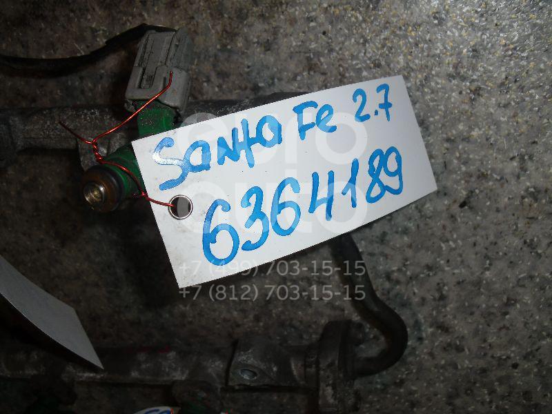 Форсунка инжекторная электрическая для Hyundai,Kia Santa Fe (SM)/ Santa Fe Classic 2000-2012;Sonata IV (EF)/ Sonata Tagaz 2001-2012;Tucson 2004-2010;RIO 2005-2011;Verna/Accent III 2006-2010 - Фото №1