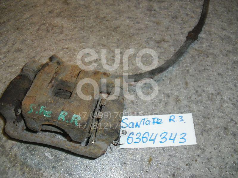 Суппорт задний левый для Hyundai Santa Fe (SM) 2000-2005 - Фото №1