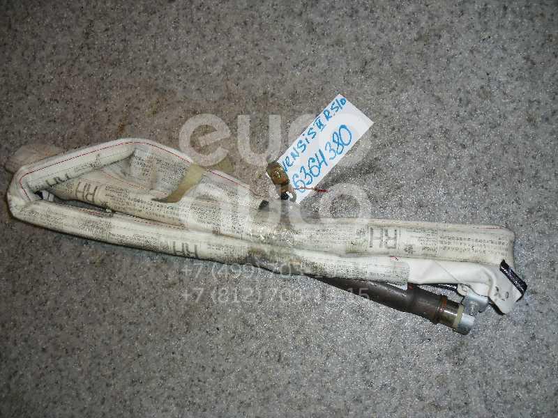 Подушка безопасности боковая (шторка) для Toyota Avensis II 2003-2008 - Фото №1