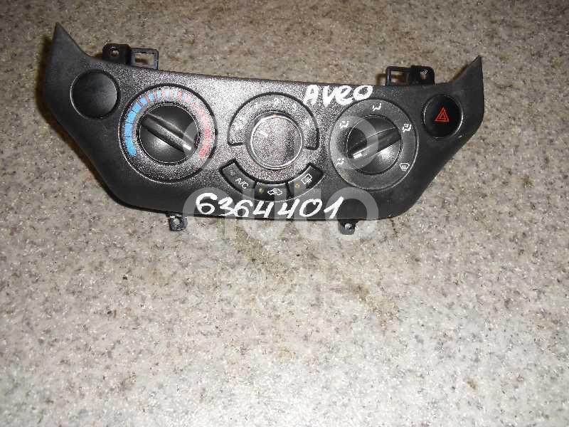 Блок управления отопителем для Chevrolet Aveo (T250) 2005-2011 - Фото №1