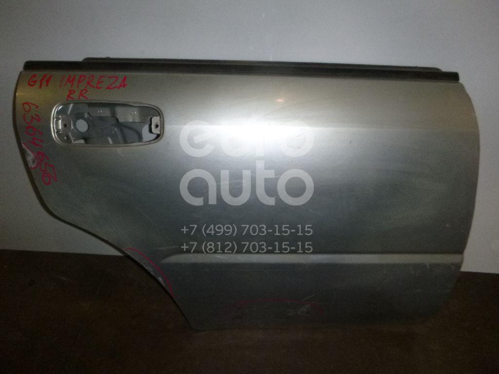 Дверь задняя правая для Subaru Impreza (G11) 2000-2007 - Фото №1