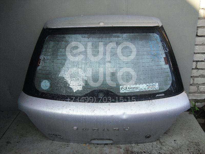 Дверь багажника со стеклом для Subaru Impreza (G11) 2000-2007 - Фото №1