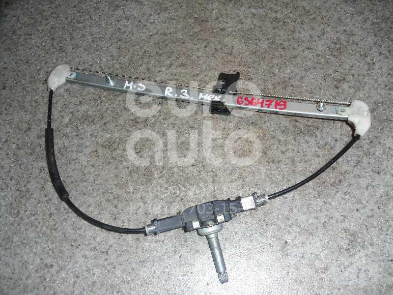 Стеклоподъемник механ. задний правый для Mazda Mazda 3 (BK) 2002-2009 - Фото №1