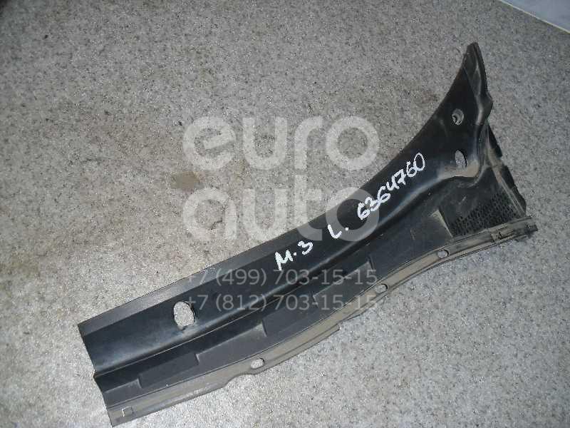 Решетка стеклооч. (планка под лобовое стекло) для Mazda Mazda 3 (BK) 2002-2009 - Фото №1