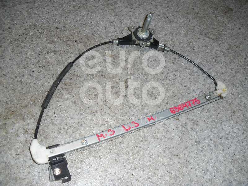 Стеклоподъемник механ. задний левый для Mazda Mazda 3 (BK) 2002-2009 - Фото №1