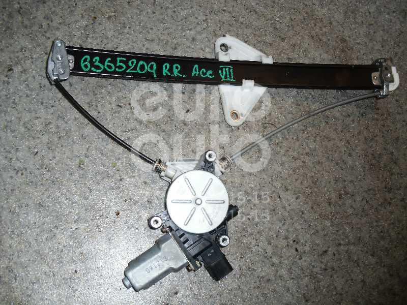 Стеклоподъемник электр. задний правый для Honda Accord VII 2003-2007 - Фото №1