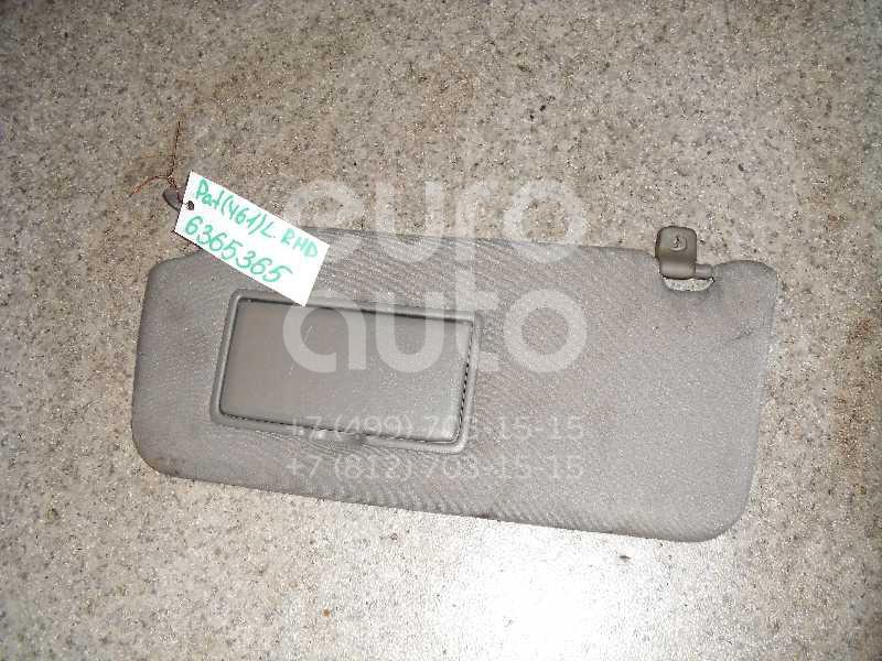 Козырек солнцезащитный (внутри) для Nissan Patrol (Y61) 1997-2009 - Фото №1