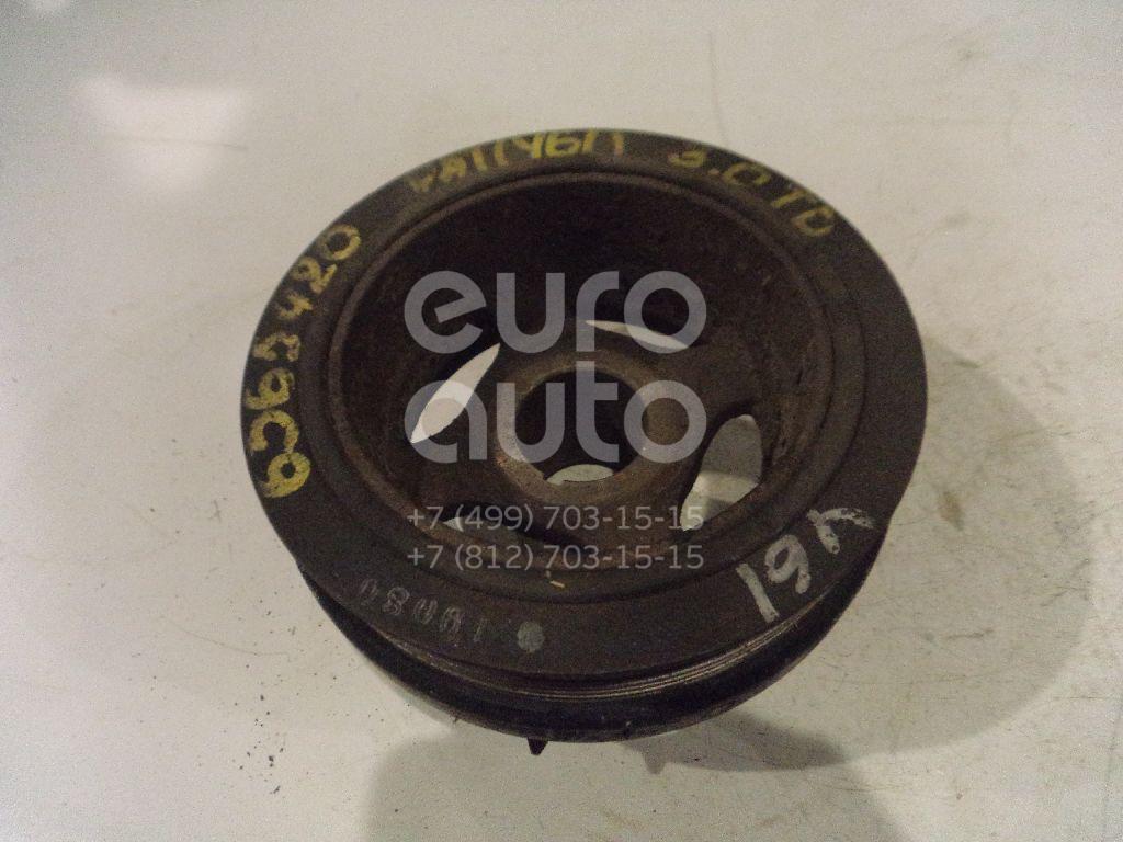 Шкив коленвала для Nissan Patrol (Y61) 1997-2009;Terrano II /Pathfinder (R50) 1996-2004;Terrano II (R20) 1993-2006 - Фото №1