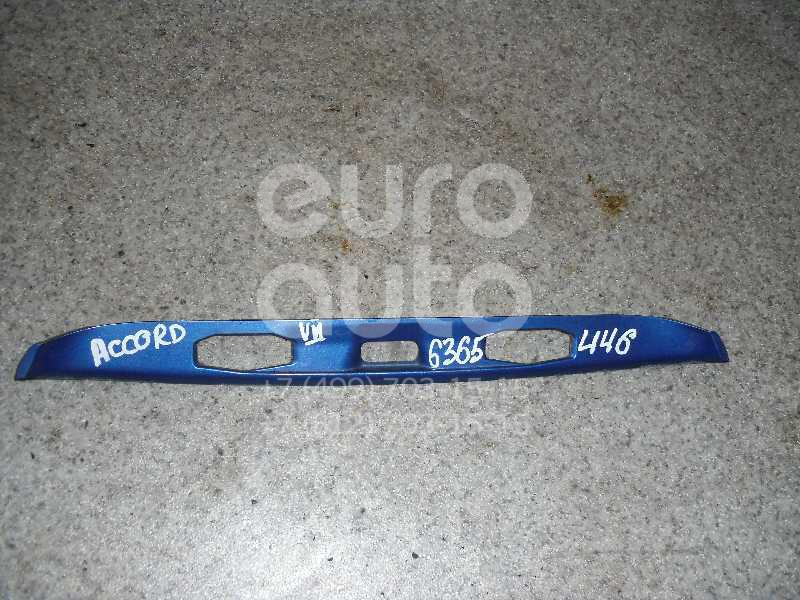 Накладка крышки багажника для Honda Accord VII 2003-2008 - Фото №1