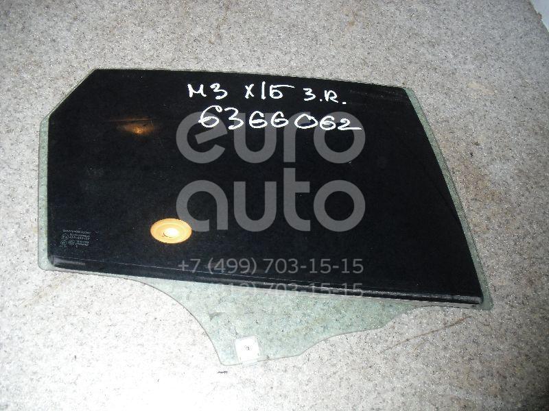 Стекло двери задней правой для Mazda Mazda 3 (BK) 2002-2009 - Фото №1