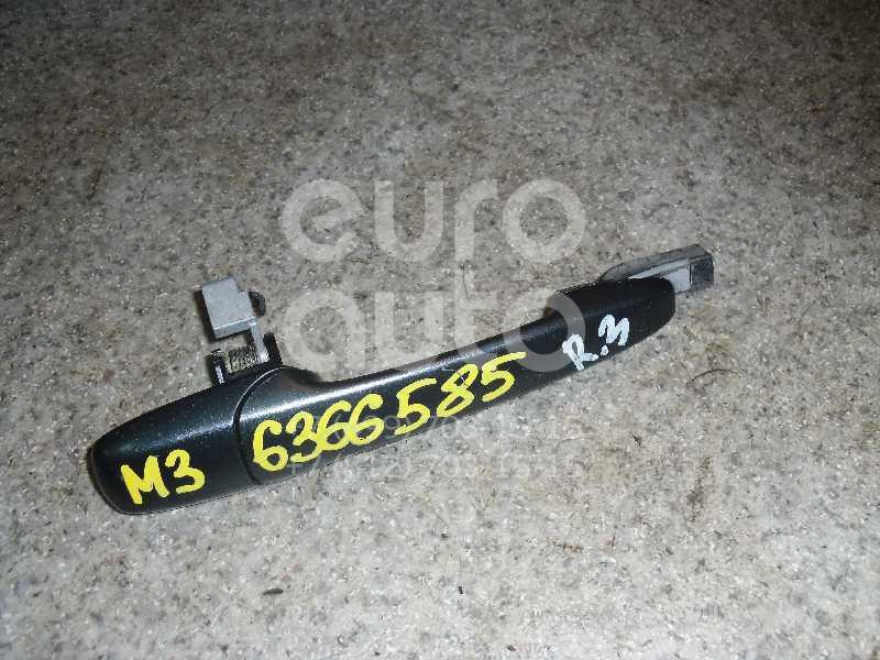 Ручка двери задней наружная правая для Mazda Mazda 3 (BK) 2002-2009 - Фото №1