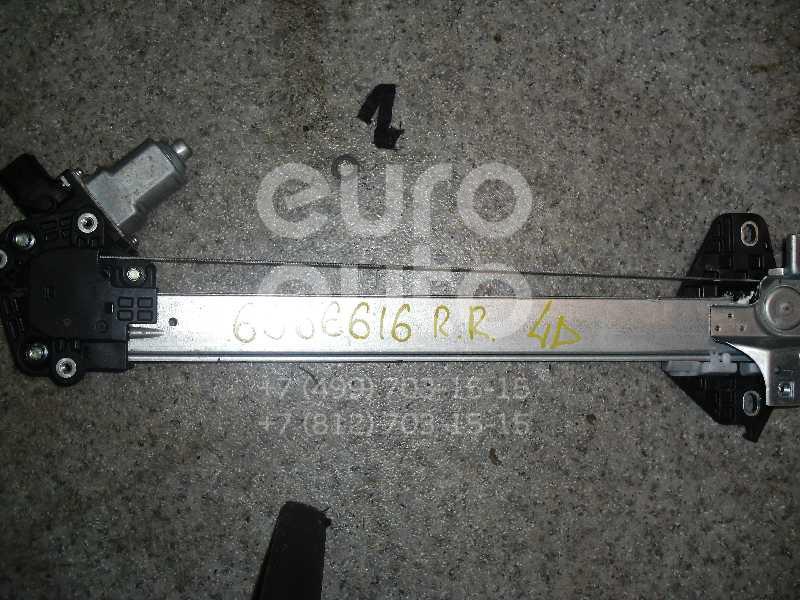 Стеклоподъемник электр. задний правый для Honda Civic 4D 2006-2012 - Фото №1