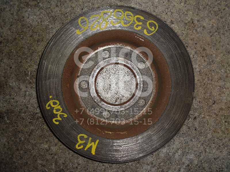 Диск тормозной задний для Mazda Mazda 3 (BK) 2002-2009;Mazda 3 (BL) 2009-2013 - Фото №1