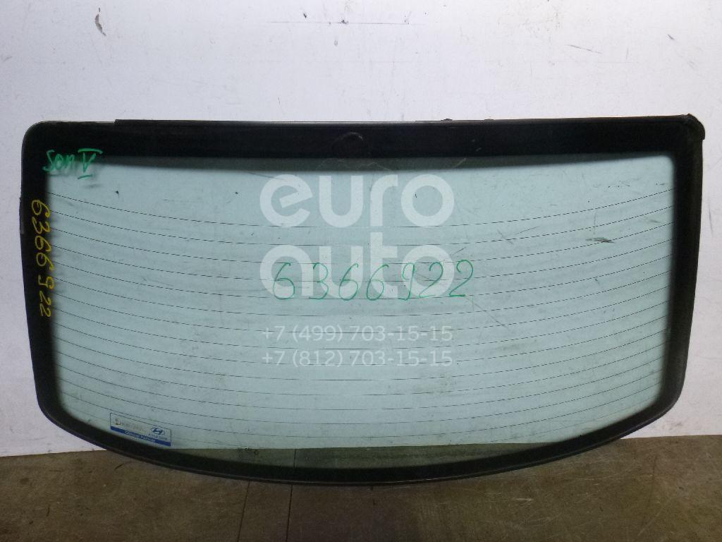 Стекло заднее для Hyundai Sonata IV (EF)/ Sonata Tagaz 2001-2012 - Фото №1