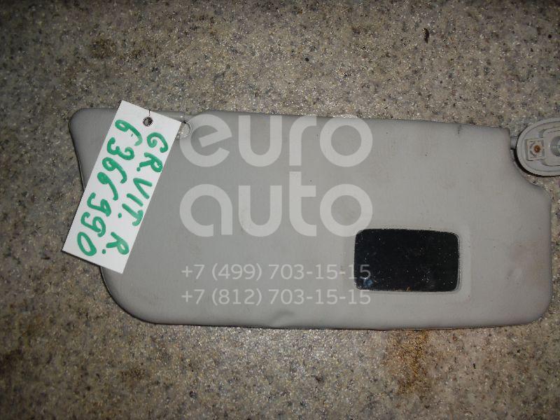 Козырек солнцезащитный (внутри) для Suzuki Grand Vitara 1998-2005 - Фото №1