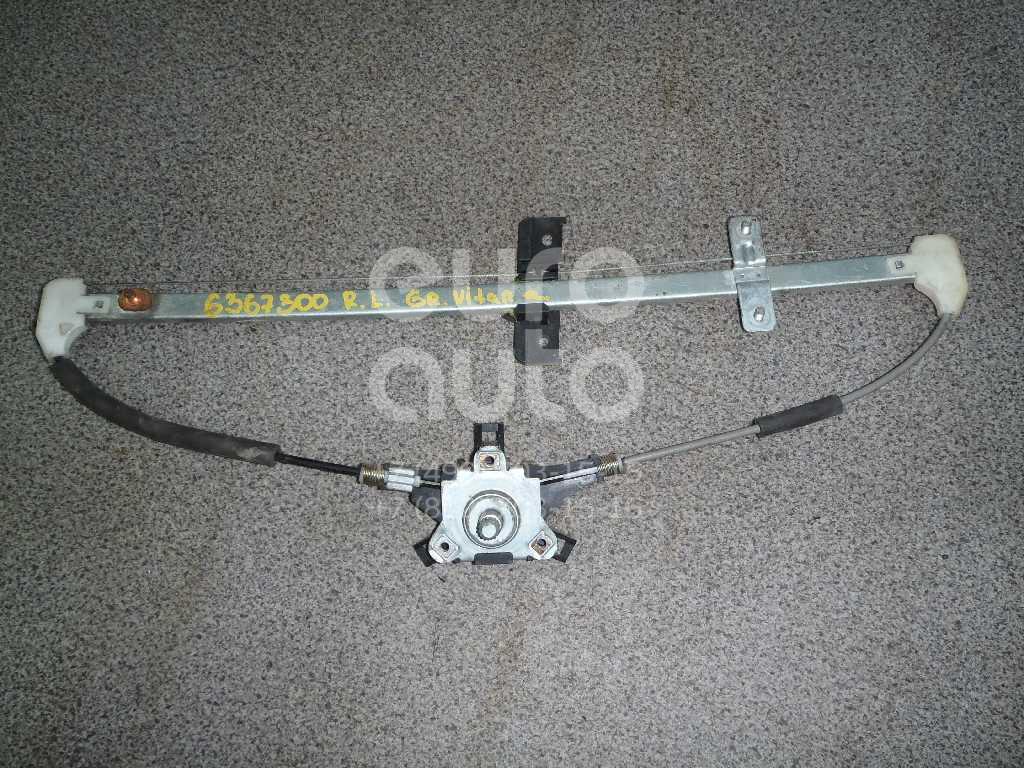 Стеклоподъемник механ. задний левый для Suzuki Grand Vitara 1998-2005 - Фото №1