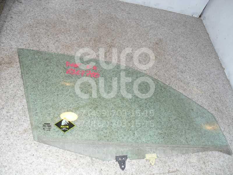 Стекло двери передней правой для Nissan Primera P11E 1996-2002;Primera WP11E 1998-2001 - Фото №1
