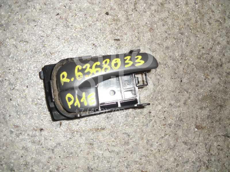 Ручка двери внутренняя правая для Nissan Primera P11E 1996-2002 - Фото №1
