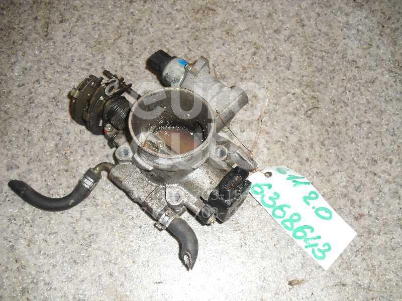 Заслонка дроссельная механическая для Subaru Impreza (G11) 2000-2007 - Фото №1