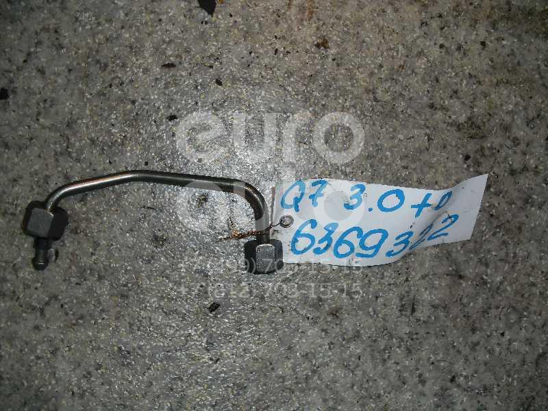 Трубка ТНВД для AUDI,VW Q7 [4L] 2005-2015;A6 [C6,4F] 2005-2011;A8 [4E] 2003-2010;Touareg 2002-2010;A4 [B7] 2005-2007 - Фото №1
