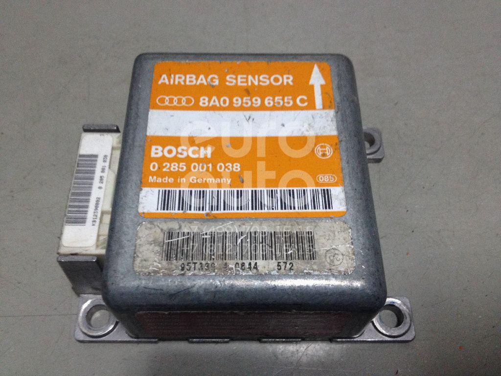 Блок управления AIR BAG для Audi A6 [C4] 1994-1997;A4 [B5] 1994-2001;80/90 [B4] 1991-1994 - Фото №1