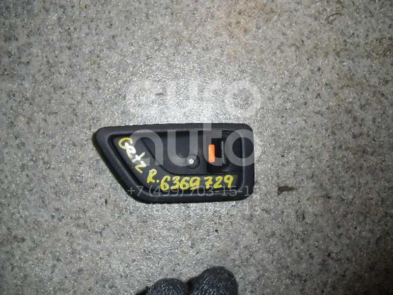 Ручка двери внутренняя правая для Hyundai Getz 2002-2010 - Фото №1