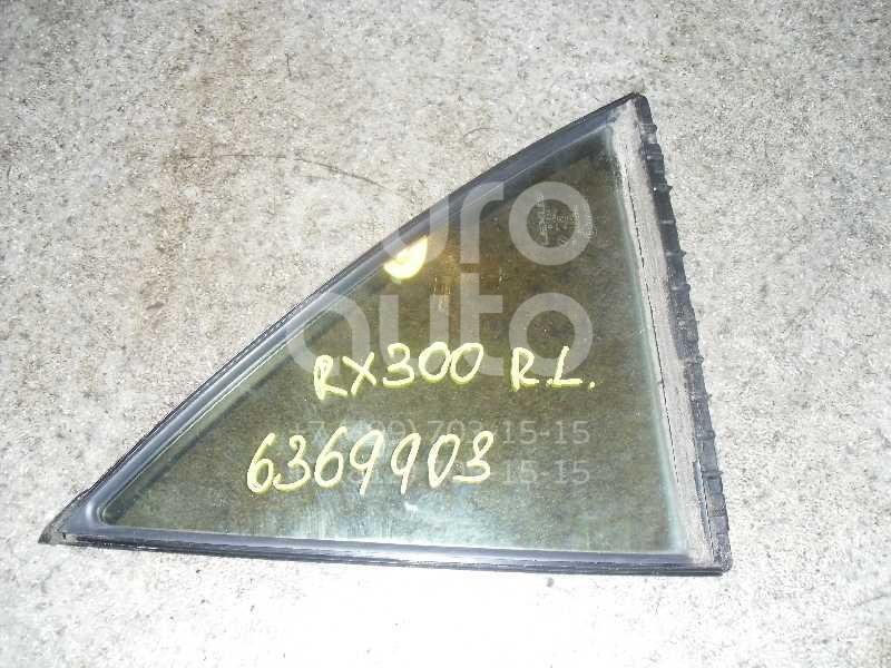 Стекло двери задней левой (форточка) для Lexus RX 300 1998-2003 - Фото №1
