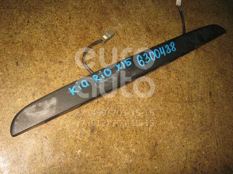 Накладка двери багажника для Kia RIO 2000-2005 - Фото №1