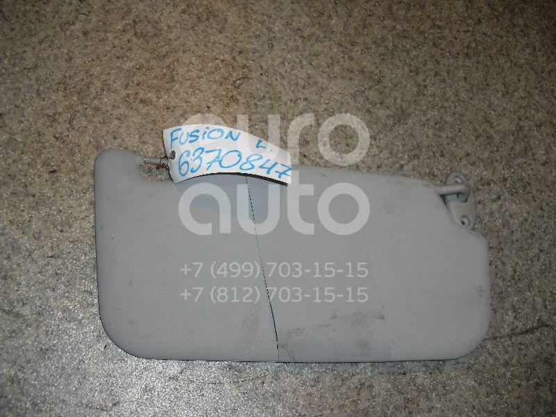 Козырек солнцезащитный (внутри) для Ford Fusion 2002>;Fiesta 2001-2007 - Фото №1