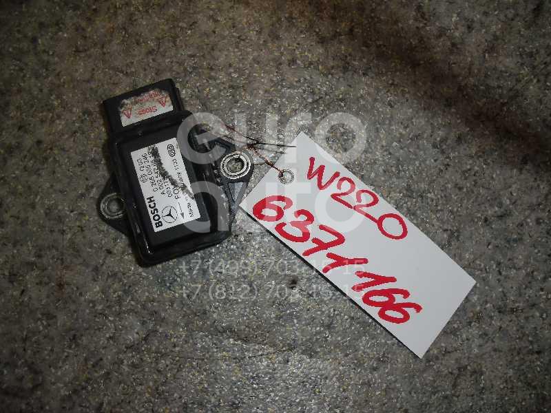 Датчик ускорения для Mercedes Benz W220 1998-2005;A140/160 W168 1997-2004;G-Class W463 1989>;W215 coupe 1999-2006;W210 E-Klasse 2000-2002;W211 E-Klasse 2002-2009;Vito/Viano-(639) 2003> - Фото №1
