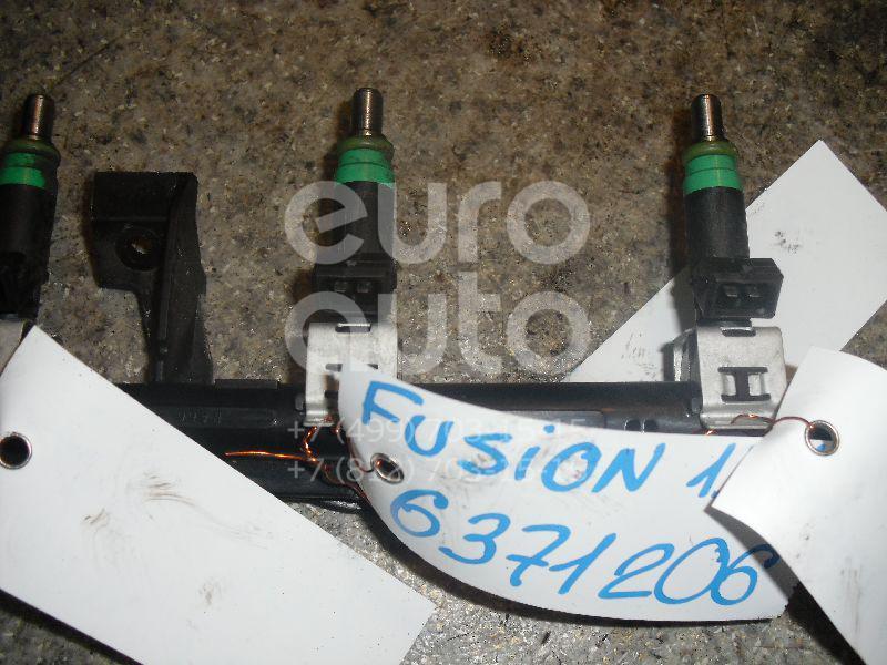 Форсунка инжекторная электрическая для Ford Fusion 2002-2012;Focus II 2005-2008;Puma 1997-2002;C-MAX 2003-2011;Focus I 1998-2005;Fiesta 2001-2008;Mondeo IV 2007-2015;Focus II 2008-2011;Fiesta 2008> - Фото №1