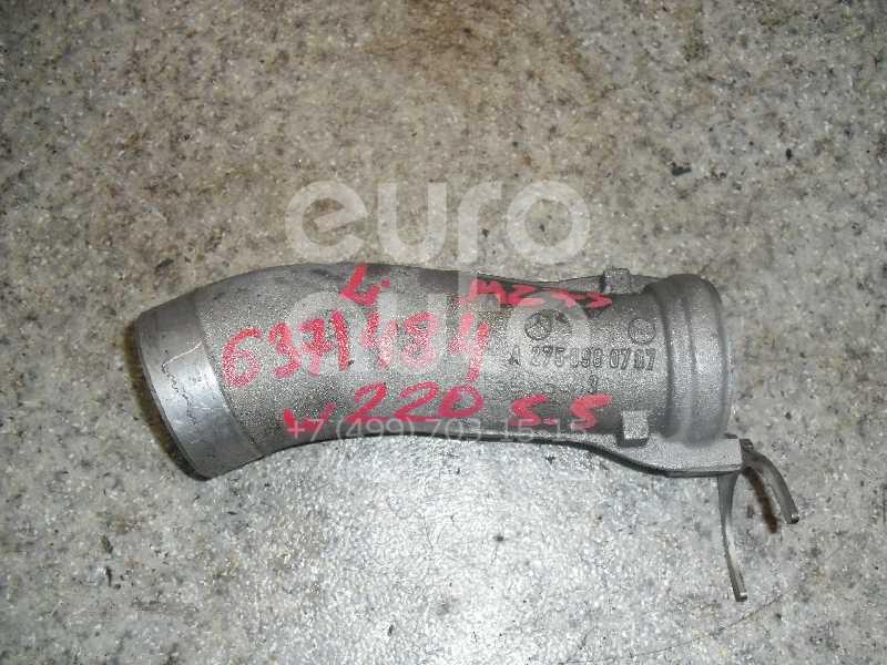 Трубка турбокомпрессора (турбины) для Mercedes Benz W220 1998-2005 - Фото №1