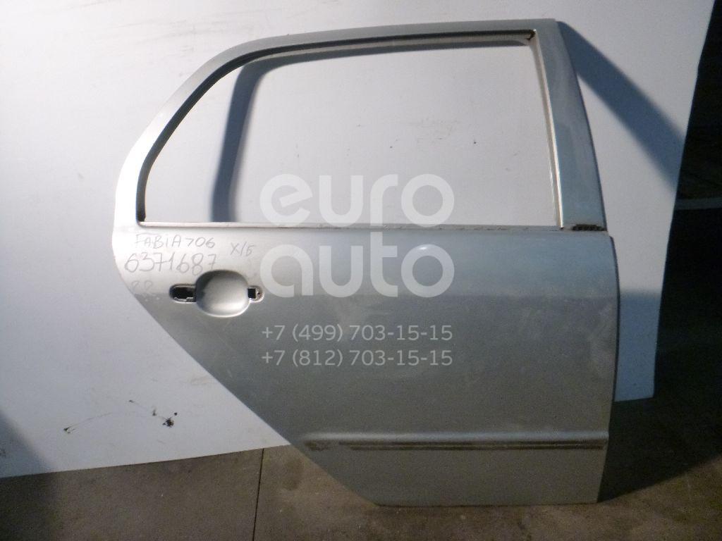 Дверь задняя правая для Skoda Fabia 1999-2006 - Фото №1