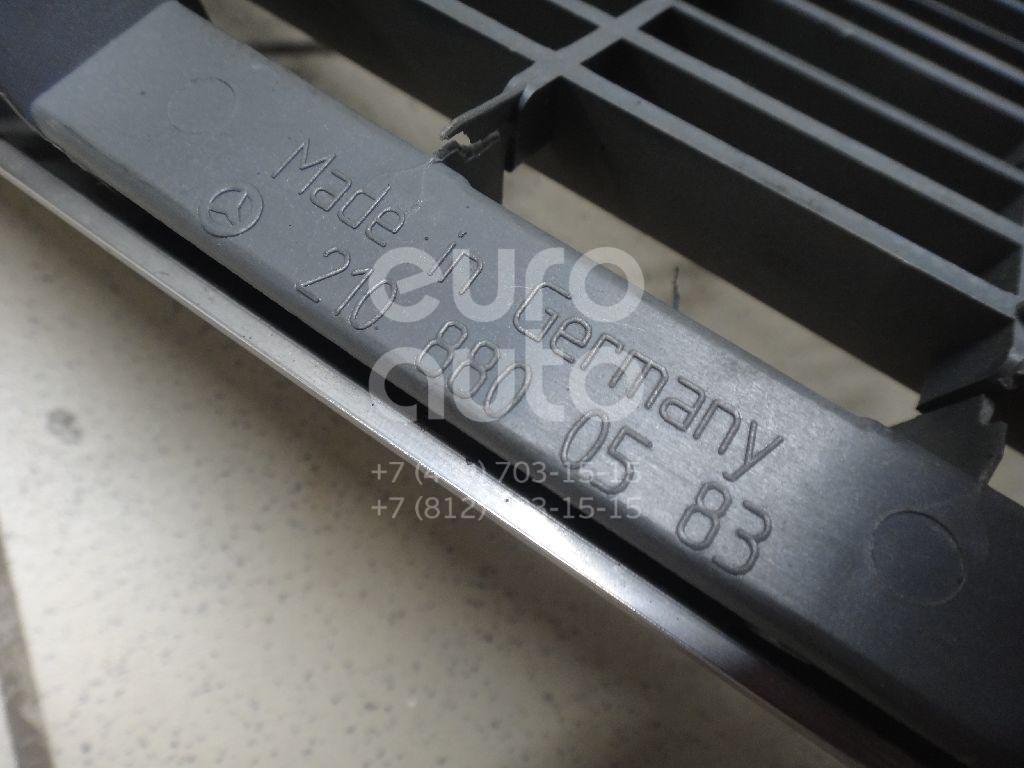 Решетка радиатора для Mercedes Benz W210 E-Klasse 2000-2002;W210 E-Klasse 1995-2000 - Фото №1