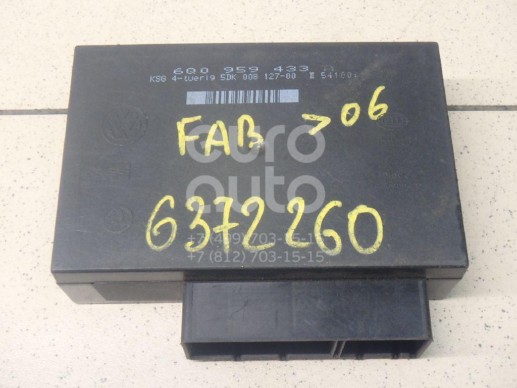 Блок комфорта для Skoda,VW Fabia 1999-2007;Polo 2001-2009 - Фото №1