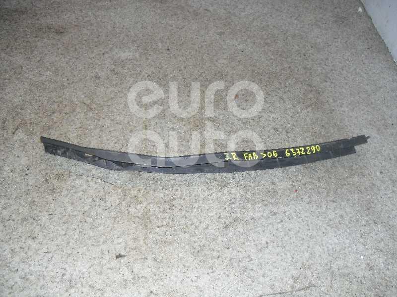 Направляющая заднего бампера правая для Skoda Fabia 1999-2006 - Фото №1