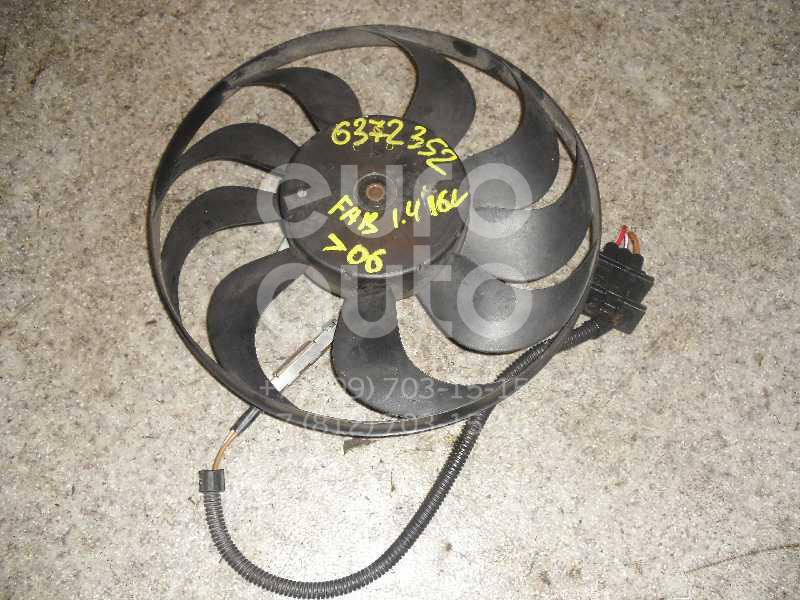 Вентилятор радиатора для Skoda,VW,Seat Fabia 1999-2006;Polo 2001-2009;Cordoba 2003-2008;Ibiza IV 2002-2008 - Фото №1