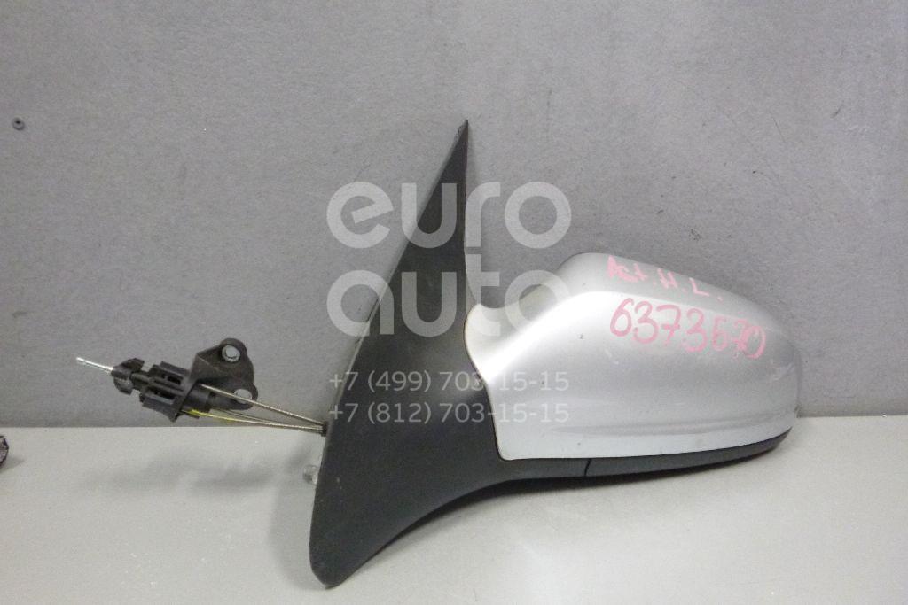 Зеркало левое механическое для Opel Astra H / Family 2004-2015 - Фото №1