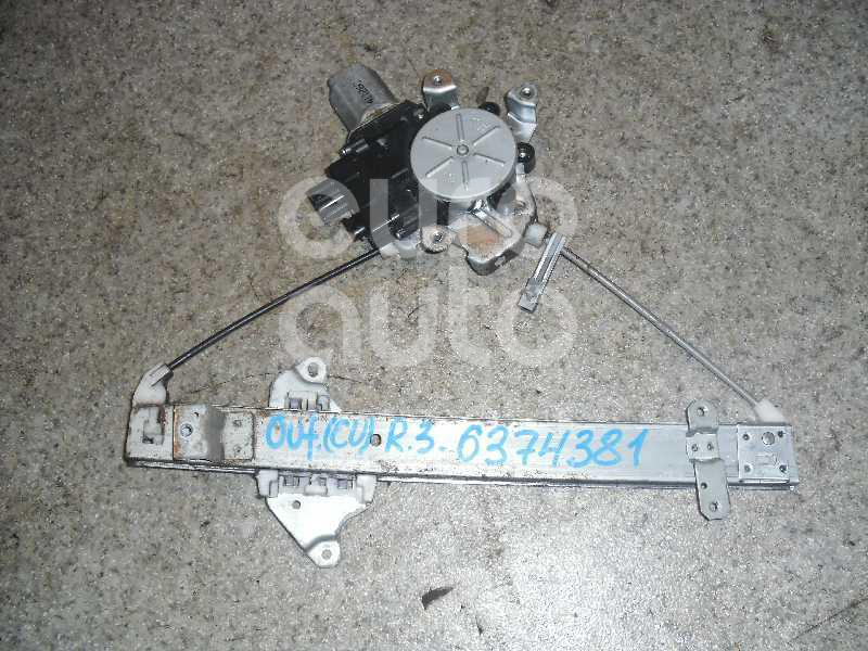 Стеклоподъемник электр. задний правый для Mitsubishi Outlander (CU) 2003-2009 - Фото №1