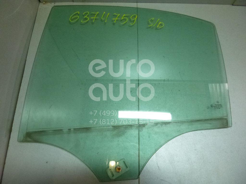 Стекло двери задней левой для Mercedes Benz W203 2000-2006 - Фото №1