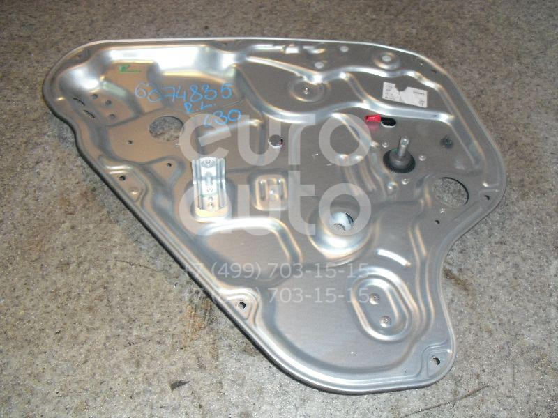 Стеклоподъемник механ. задний левый для Hyundai i30 2007-2012 - Фото №1