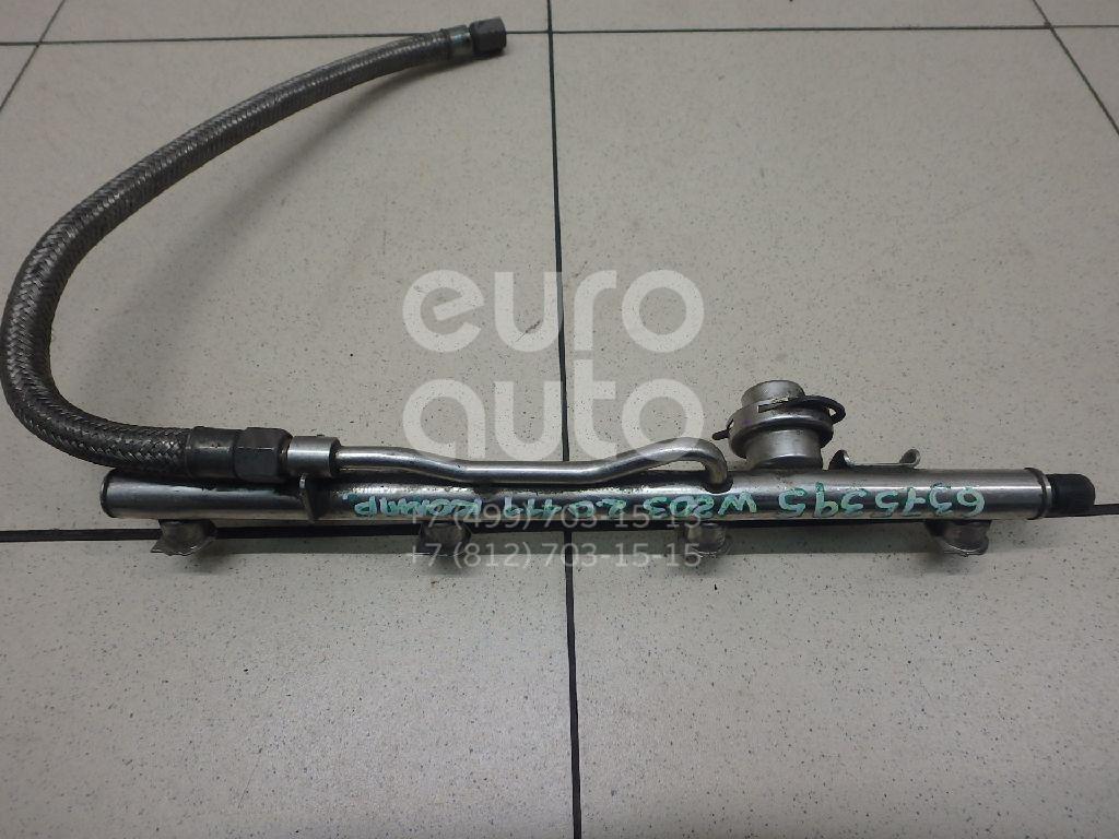 Рейка топливная (рампа) для Mercedes Benz W203 2000-2006;C208 CLK coupe 1997-2002;R170 SLK 1996-2004;W210 E-Klasse 2000-2002 - Фото №1