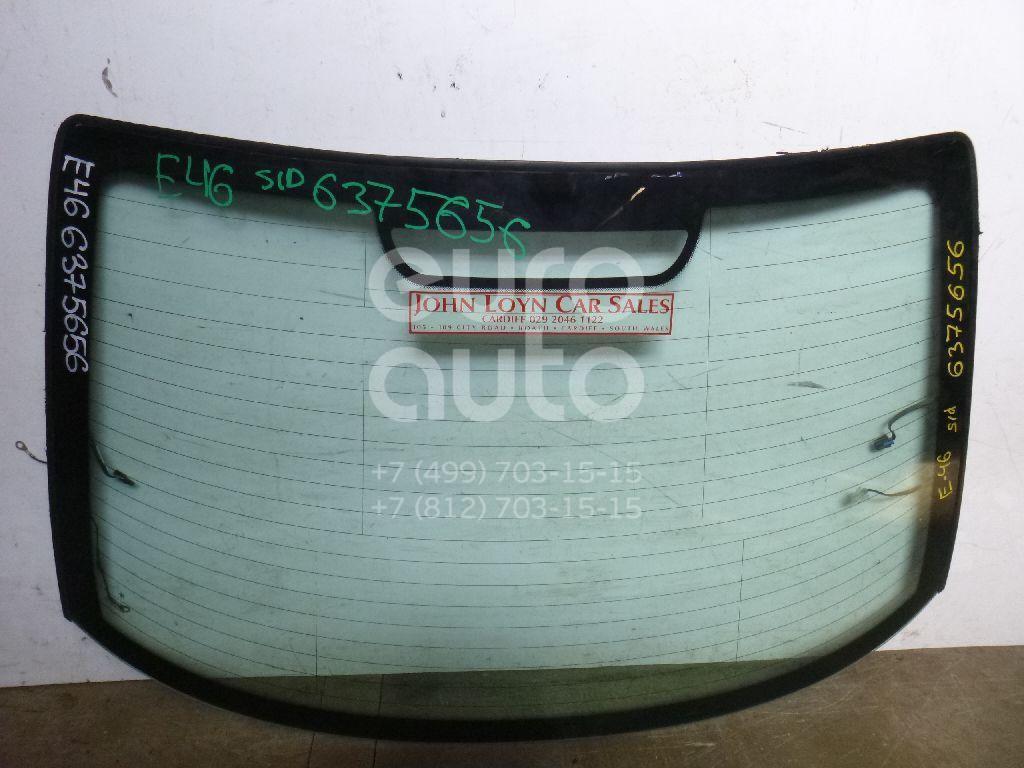 Стекло заднее для BMW 3-серия E46 1998-2005 - Фото №1