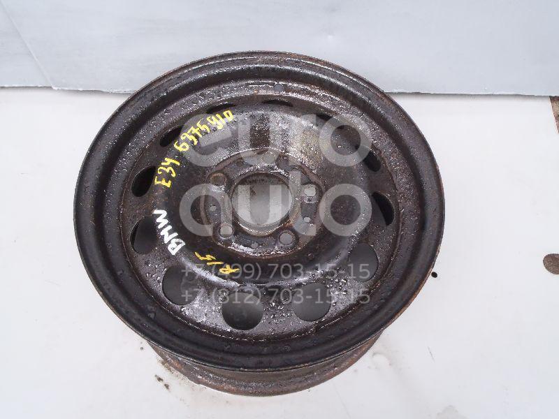 Диск колесный железо для BMW 5-серия E34 1988-1995;5-серия E28 1981-1988;6-серия E24 1982-1990;7-серия E32 1986-1994 - Фото №1