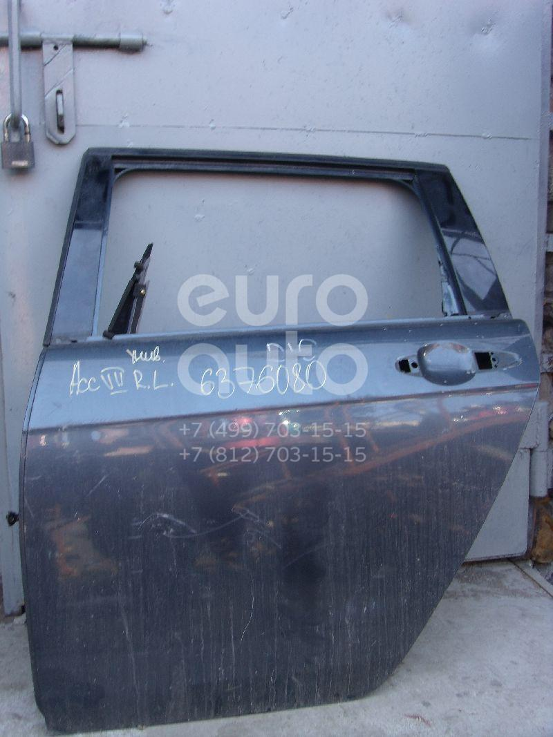 Дверь задняя левая для Honda Accord VII 2003-2008 - Фото №1