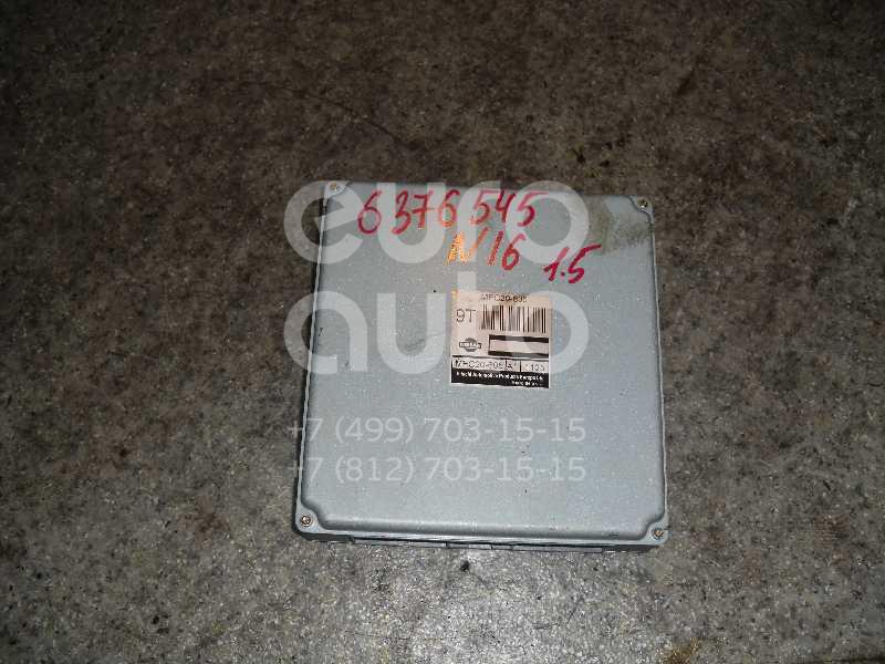 Блок управления двигателем для Nissan Almera N16 2000-2006 - Фото №1