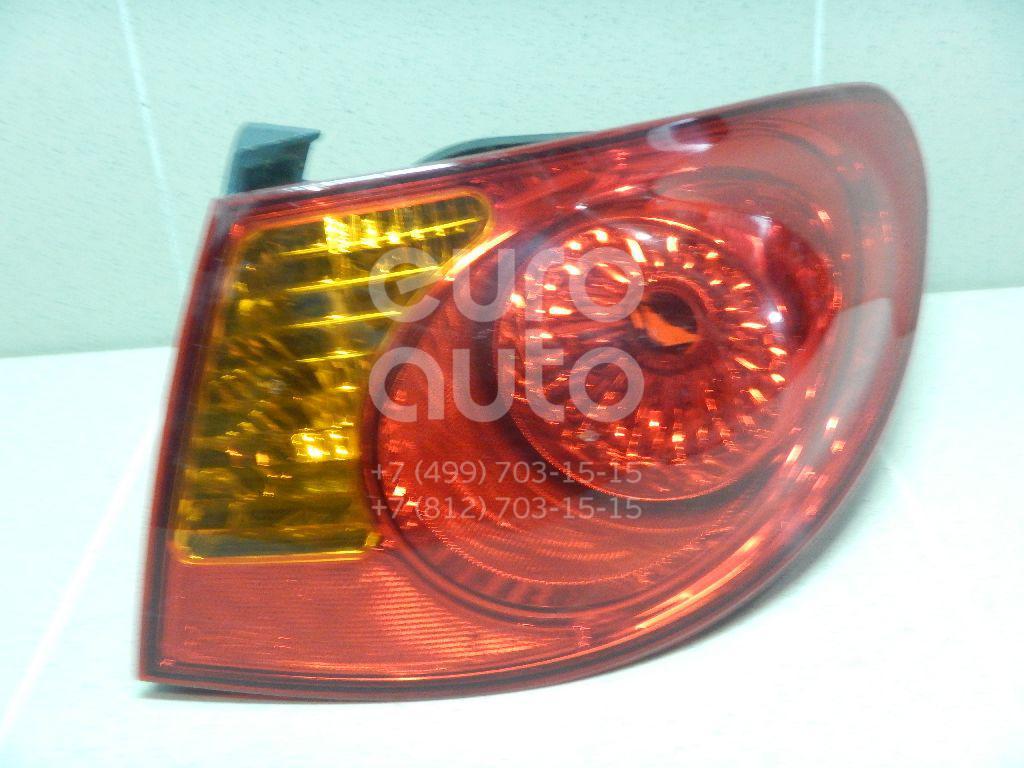 Фонарь задний наружный правый для Hyundai Elantra 2006-2011 - Фото №1